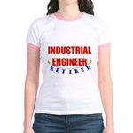 Retired Industrial Engineer Jr. Ringer T-Shirt