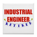 Retired Industrial Engineer Tile Coaster