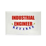 Retired Industrial Engineer Rectangle Magnet (100