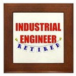 Retired Industrial Engineer Framed Tile