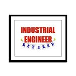 Retired Industrial Engineer Framed Panel Print