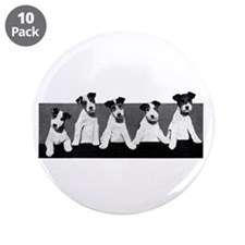 "Jack Russell Terriers 3.5"" Button (10 pack)"