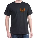 Butterfly Tattoo Dark T-Shirt