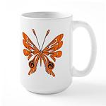 Butterfly Tattoo Large Mug