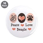 Peace Love Beagle 3.5