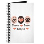 Peace Love Beagle Journal