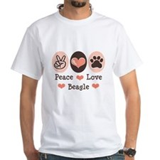 Peace Love Beagle Shirt