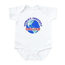 World's Greatest Smelter (E) Infant Bodysuit