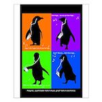 Penguin Dance Small Poster