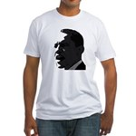 Obama Black & White Fitted T-Shirt