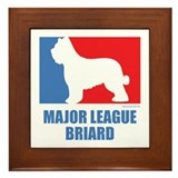 ML Briard Framed Tile