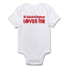 An Industrial Engineer Loves Me Infant Bodysuit