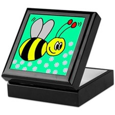 Bumble Bees Keepsake Box