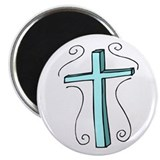 "Blue Cross 2.25"" Magnet (10 pack)"