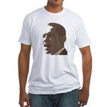 Obama in Sepia 2008 Fitted T-Shirt