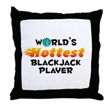 World's Hottest Black.. (C) Throw Pillow