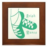 Irish Dance Framed Tile