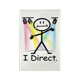 Theater Play Director Rectangle Magnet (10 pack)