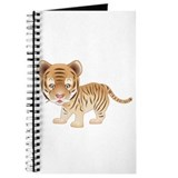 Cuddly Baby Tiger Journal