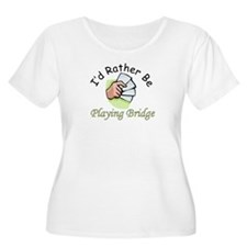 Playing Bridge T-Shirt