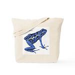 Blue Poison Frog Tote Bag