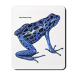 Blue Poison Frog Mousepad