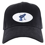Blue Poison Frog Black Cap