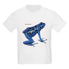 Blue Poison Frog (Front) T-Shirt