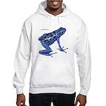 Blue Poison Frog Hooded Sweatshirt