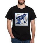 Blue Poison Frog (Front) Dark T-Shirt