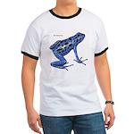 Blue Poison Frog (Front) Ringer T