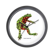 Firebelly Toad Wall Clock