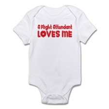 A Flight Attendant Loves Me Infant Bodysuit
