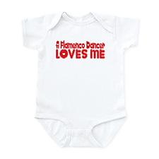 A Flamenco Dancer Loves Me Infant Bodysuit
