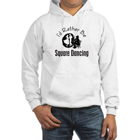 Square Dancing Hooded Sweatshirt