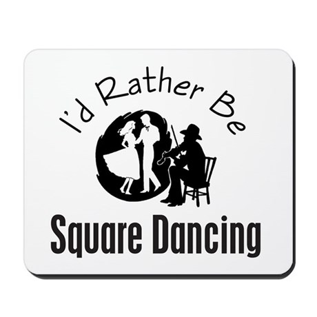 Square Dancing Mousepad