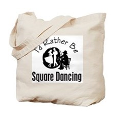 Square Dancing Tote Bag
