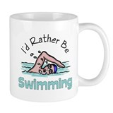 I'd Rather Be Swimming  Tasse