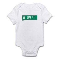 89th Street in NY Infant Bodysuit