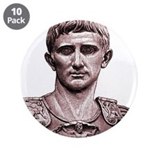 "Faces ""Augustus"" 3.5"" Button (10 pack)"