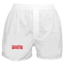 A Financial Planner Loves Me Boxer Shorts