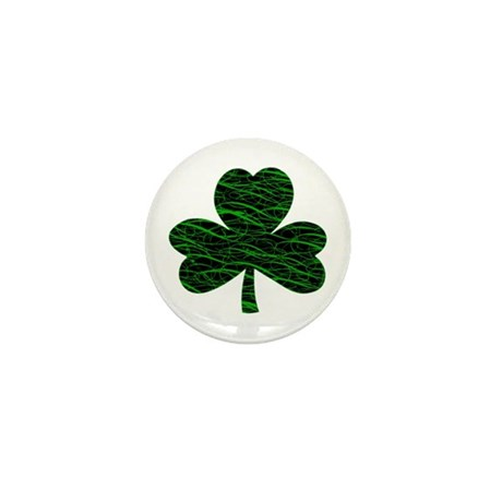 Shamrock Dancer Mini Button