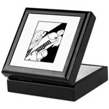 Art Deco Ladies Keepsake Box