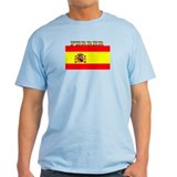 Ferrer Spain Spanish Flag T-Shirt