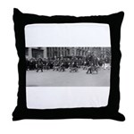 K9 Parade Throw Pillow