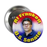 "Al Franken U. S. Senate 2.25"" Button (10 pack)"