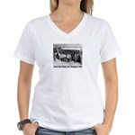 Zoot Suit Women's V-Neck T-Shirt