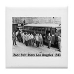 Zoot Suit Tile Coaster