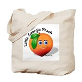 Little Georgia Peach Tote Bag