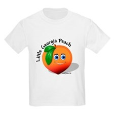 Little Georgia Peach T-Shirt